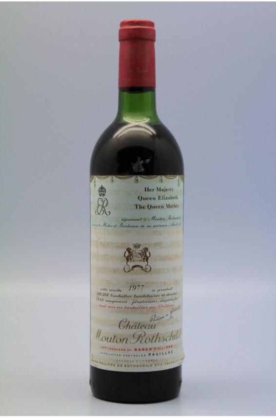 Mouton Rothschild 1977