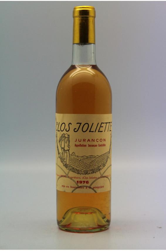Clos Joliette Jurançon 1976