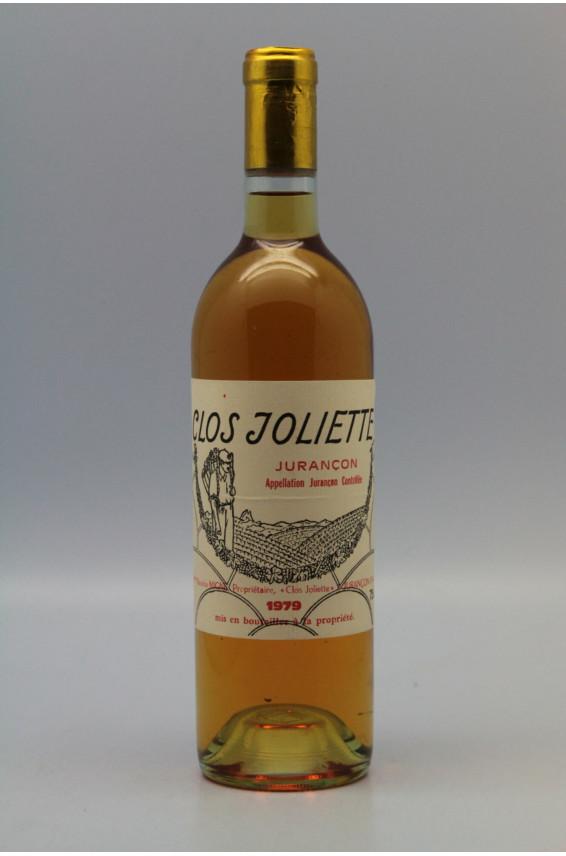 Clos Joliette Jurançon 1979