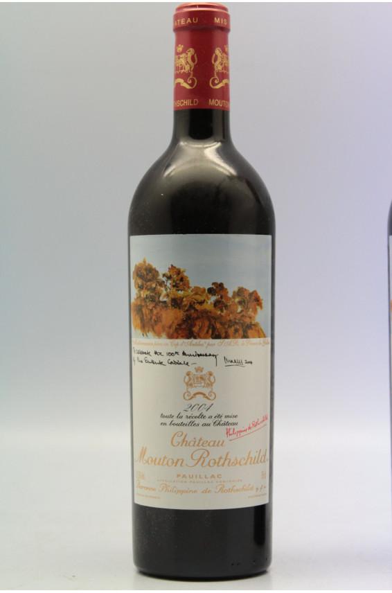 Mouton Rothschild 2004