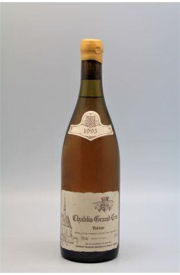 Raveneau Chablis Grand cru Valmur 1995