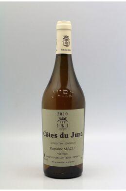 Jean Macle Côtes du Jura Ouillé 2010