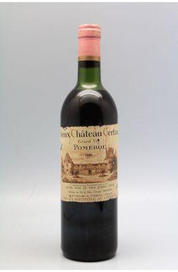 Vieux Château Certan 1981 - PROMO -10% !