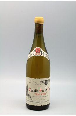 Vincent Dauvissat Chablis Grand cru Les Clos 2005