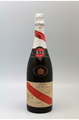 Mumm Cordon Rouge 1959