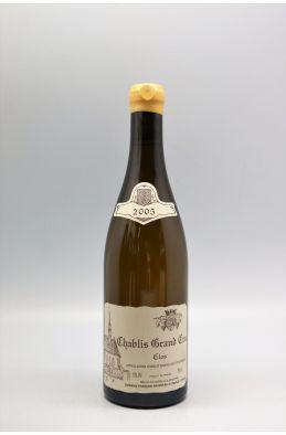 Raveneau Chablis Grand cru Les Clos 2005