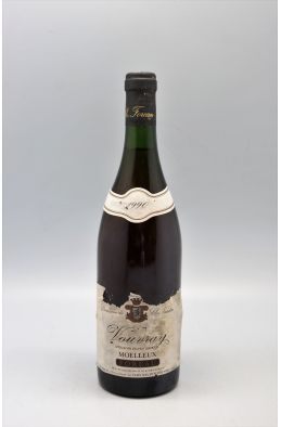 Foreau Vouvray Moelleux 1990 -10% DISCOUNT !