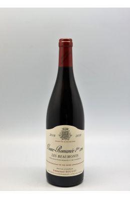 Emmanuel Rouget Vosne Romanée 1er cru Les Beaumonts 2018
