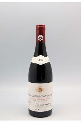 Ramonet Chassagne Montrachet 1er cru Clos de la Boudriotte 2017 rouge