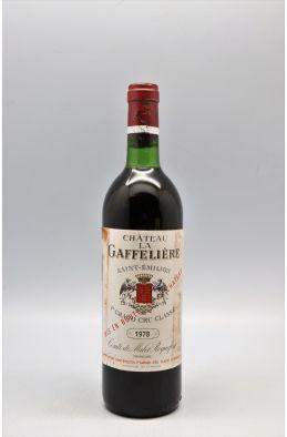 La Gaffelière 1978