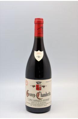 Armand Rousseau Gevrey Chambertin 1er cru Lavaux St Jacques 2012