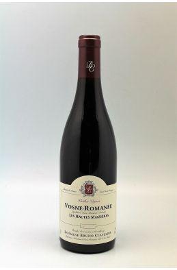 Bruno Clavelier Vosne Romanée Hautes Maizières Vieilles Vignes 2018