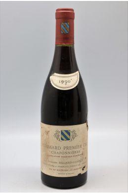 Billard Gonnet Pommard 1er cru Les Chaponnières Vieilles Vignes 1990 - PROMO -5% !