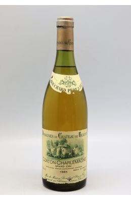 Bouchard P&F Corton Charlemagne 1985