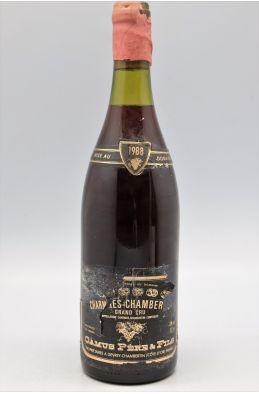 Camus Charmes Chambertin 1988 - PROMO -10% !