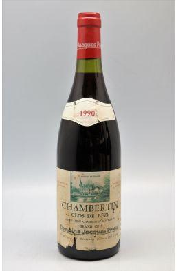 Jacques Prieur Chambertin Clos de Bèze 1990 -5% DISCOUNT !