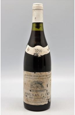 Jean Marc Bouley Volnay 1er cru Les Caillerets 1990 - PROMO -10% !
