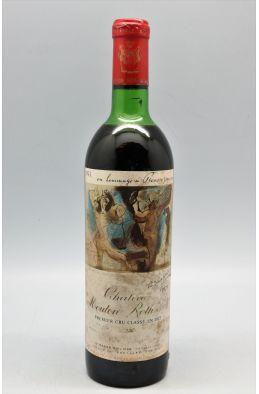 Mouton Rothschild 1973 -10% DISCOUNT !