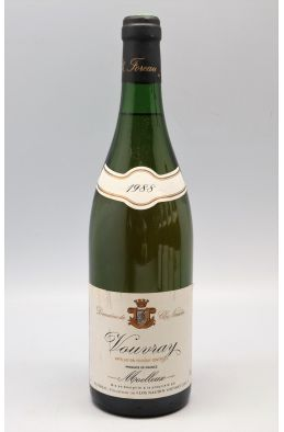 Foreau Vouvray Moelleux 1988