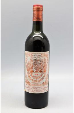 Pichon Longueville Baron 1978 - PROMO -15% !