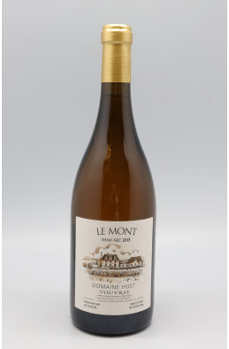 Huet Vouvray Le Mont Demi Sec 2015