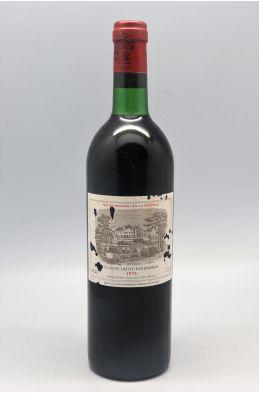 Lafite Rothschild 1975 - PROMO -5% !