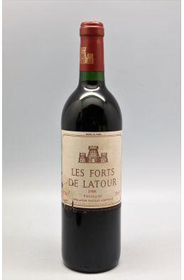 Forts de Latour 1986 - PROMO -5% !