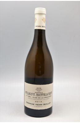 Henri Boillot Puligny Montrachet 1er cru Clos de la Mouchère 2014