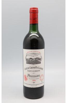 Grand Puy Lacoste 1985 - PROMO -10% !