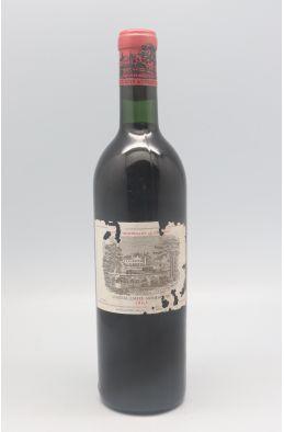 Lafite Rothschild 1965 - PROMO -10% !