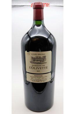 L'Olivette Bandol Cuvée Spéciale 2015 Mathusalem 6L