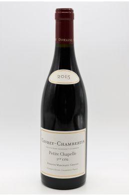 Marchand Grillot Gevrey Chambertin 1er cru Petite Chapelle 2015