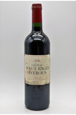 Haut Bages Averous 2006 - PROMO -10% !