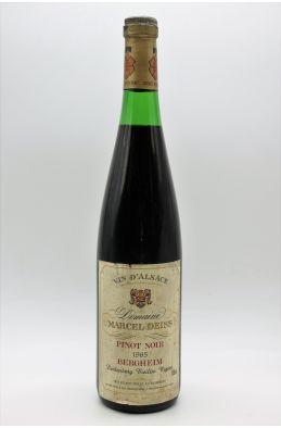 Marcel Deiss Alsace Grand cru Pinot Noir Bergheim Burlenberg Vieilles Vignes 1985