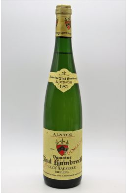Zind Humbrecht Alsace Riesling Clos Hauserer 1985