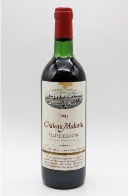 Château Malartic 1981