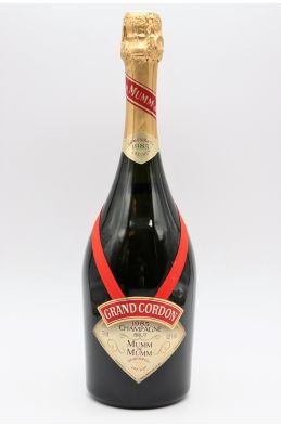 Mumm Grand Cordon Rouge 1985