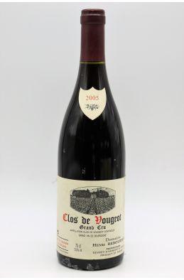 Rebourseau Clos Vougeot 2005