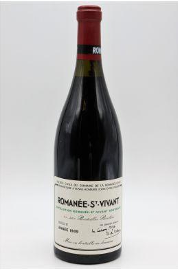 Romanée Conti Romanée Saint Vivant 1989