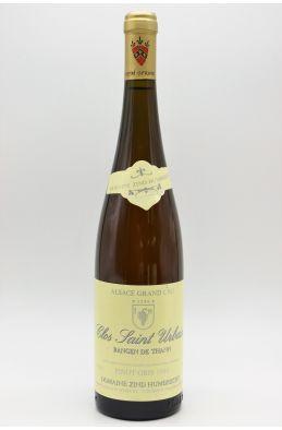 Zind Humbrecht Alsace Grand Cru Pinot Gris Rangen de Thann Clos Saint Urbain 1994