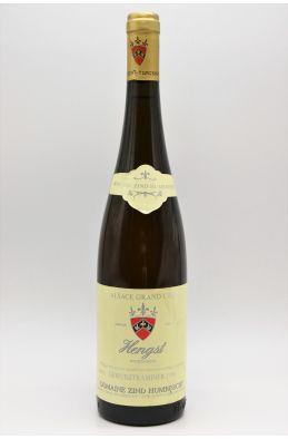Zind Humbrecht Alsace Grand Cru Gewurztraminer Hengst 1996