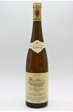 Zind Humbrecht Alsace Pinot Gris Clos Windsbuhl 1993