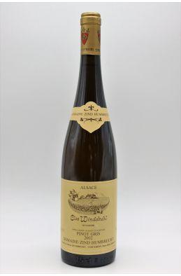 Zind Humbrecht Alsace Pinot Gris Clos Windsbuhl 2002