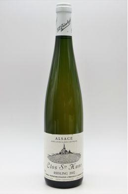 Trimbach Alsace Riesling Clos Sainte Hune 2002