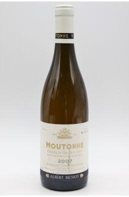 Albert Bichot Domaine Long Depaquit Chablis Grand cru La Moutonne Monopole 2007
