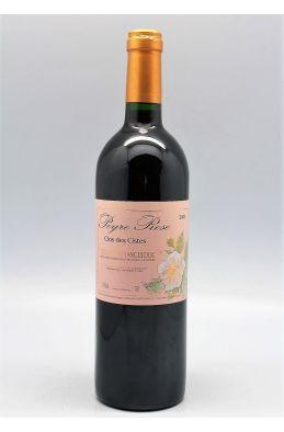 Peyre Rose Côteaux du Languedoc Clos des Cistes 2002