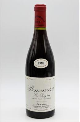 De Montille Pommard 1er cru Les Rugiens 1988