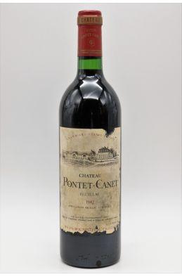 Pontet Canet 1982 -10% DISCOUNT !