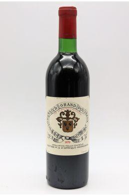 Gressier Grand Poujeaux 1970