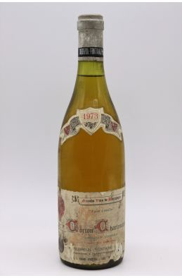 Dubreuil Fontaine Corton Charlemagne 1973 -10% DISCOUNT !